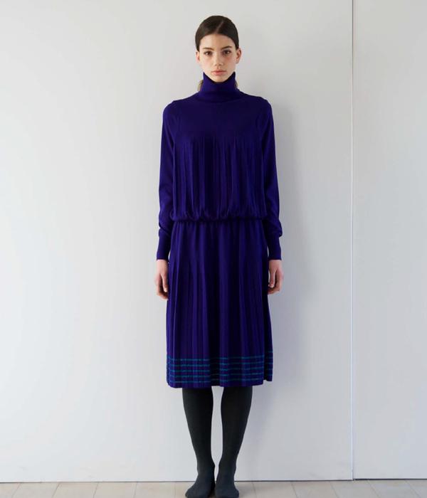 Harikae [ハリカエ] / 【レディース】Turtle neck Pleats knit / 全3色 (タートルネック プリーツ ニット セーター レディース トップス)FW17H0041【ANN】