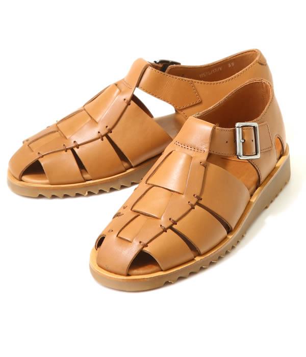 paraboot / パラブーツ : PACIFIC-Cuir Lisse smooth- : メンズ グルカサンダル サンダル レザー シューズ 靴 : 123303【MUS】
