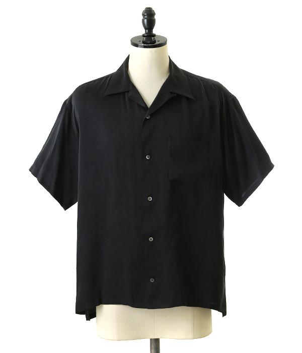 VAINL ARCHIVE / バイナルアーカイブ : MARK (MARK マーク トップス シャツ 半袖 半袖シャツ オープンカラーシャツ) 2218-016【NOA】