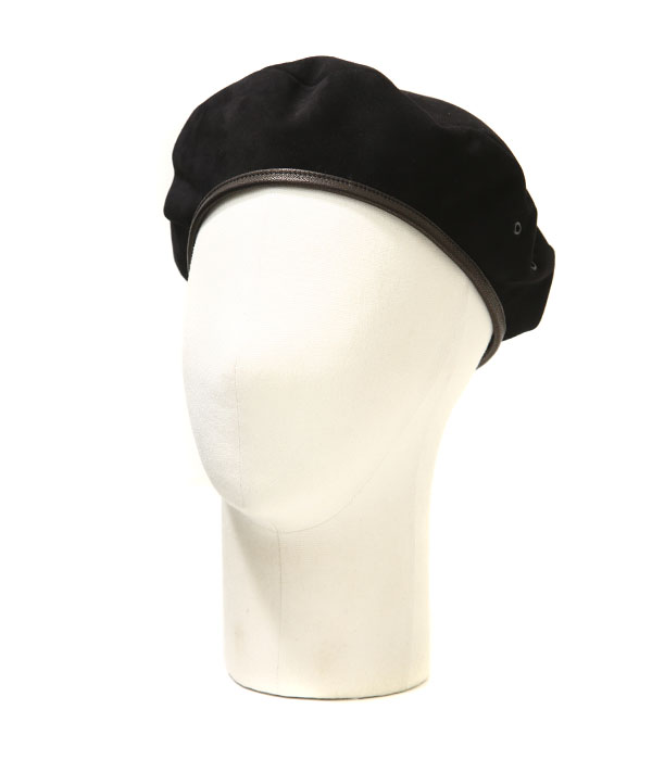 【SPECIAL PRICE!】SOLARIS / ソラリス : SUEDE BERET CAP -B.PANTHER- / : スウェードベレーキャップ ベレー帽 キャップ 帽子 : SH-18SS-07【MUS】