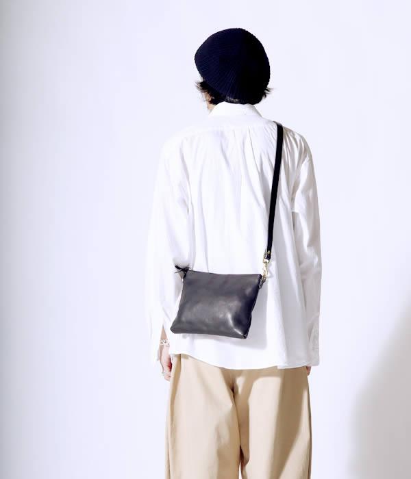 SLOW / スロウ : bono pouch shoulder bag / 全2色 : ボーノ ショルダーバッグ ショルダー バッグ 鞄 レザー : 49S148G 【AST】