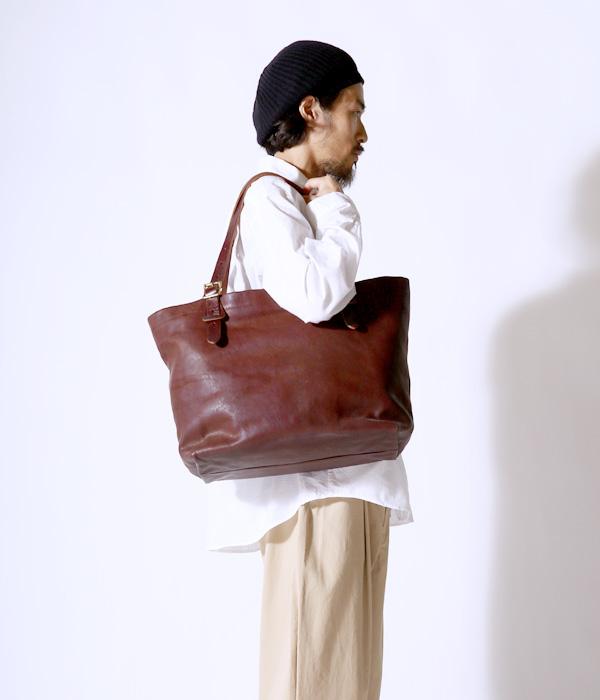SLOW / スロウ : TOTE BAG - チョコ - (トート バッグ カバン)300S11503-choco【COR】