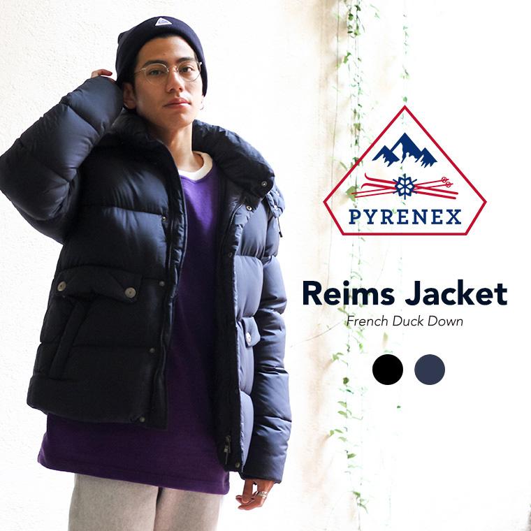 PYRENEX / ピレネックス メンズ : Reims Jacket ランス ジャケット / 全2色 : ピレネックス ランス ダウンジャケット メンズ 定番 18AW 秋冬 : HMK030 【MUS】【BJB】