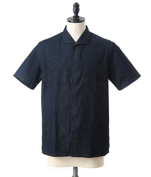 【SPECIAL PRICE!】LEMAIRE / ルメール : SPREAD COLLAR SHIRT : スプレッドカラーシャツ シャツ メンズ : M171SH15-ind 【RIP】