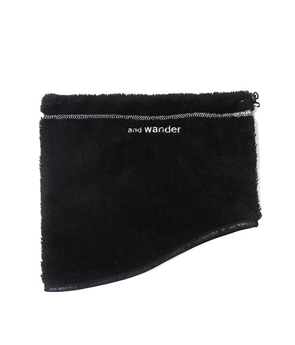 and wander / アンドワンダー : high loft fleece neck warmer : ハイロフトフリースネックウォーマー メンズ : AW83-AA604 【PIE】【REA】