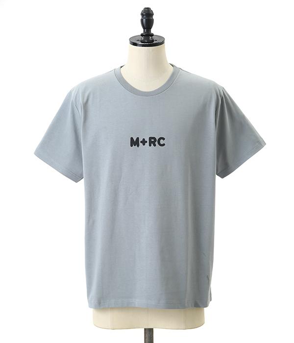 M+RC NOIR / マルシェノア : M+RC Sharkin Grey Tee Shirt Big M : ビッグTEE オーバーサイズ メンズ : 90003【WAX】