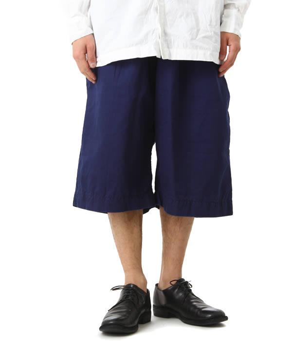 CASEY CASEY / ケイシー ケイシー : NOTTING SHORT : メンズ ノッティングショーツ 半ズボン ハーフパンツ ワイドパンツ ワイドショーツ : 10HP117【RIP】
