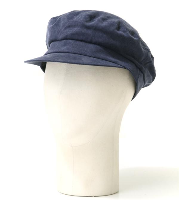KIJIMA TAKAYUKI / キジマ タカユキ COEUR クール : 【レディース】マリンキャップ-BEIGE-(W-181258) / 全2色 / : キャスケット マリン帽 帽子 ウーマン ワークキャップ セーラーキャップ : W-181258【ANN】
