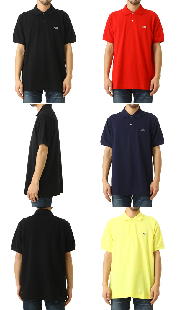 67735404 LACOSTE / Lacoste: All POLOS CLASSIC FIT / four colors: Basic polo shirt  Lacoste short sleeves logo men classical music fitting: L1212AL