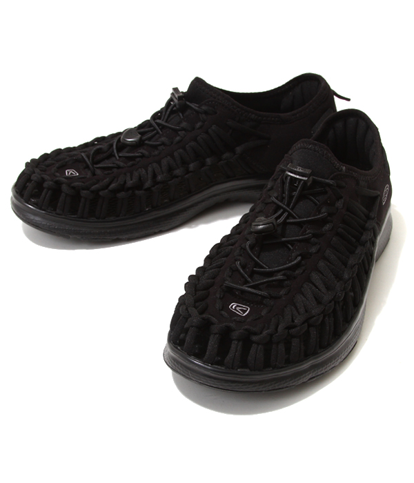 KEEN / キーン : 【メンズ】UNEEK O2 -Black/Black- : ユニーク サンダル 靴 アウトドア 旅行 レジャー 軽量 : 1018709【STD】【REA】