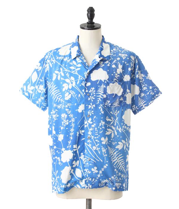 DOUBLE RAINBOUU / ダブルレインボー : DREAM FIELDS : ダブル レインボー アロハ 半袖 オープンカラーシャツ 半袖 総柄 柄シャツ メンズ : DRSS0039【PIE】