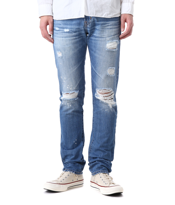 AG jeans / AGジーンズ AGデニム : TELLIS 22YEARS MELVILLE : デニムパンツ テリス ボトム ジーンズ : AG1783LGN22M 【PIE】