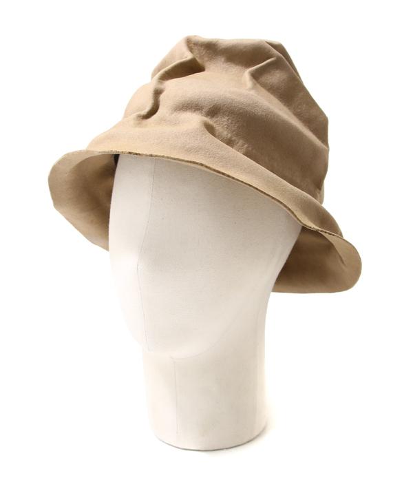 【サマーキャンペーン!】HORISAKI / ホリサキ : EASY BURNT FUR FELT HAT with BAND / 全2色 : ラビットファー フェルト エッジ バーント ハット 帽子 : RHPK006-EB【RIP】
