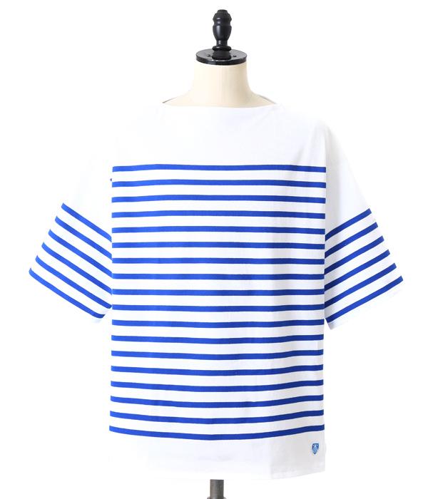 ORCIVAL / オーシバル : Russell Border Basque shirt / 全2色 : オーチバル オーシバル ボーダー カットソー 半袖 ティーシャツ : RC-6815【STD】