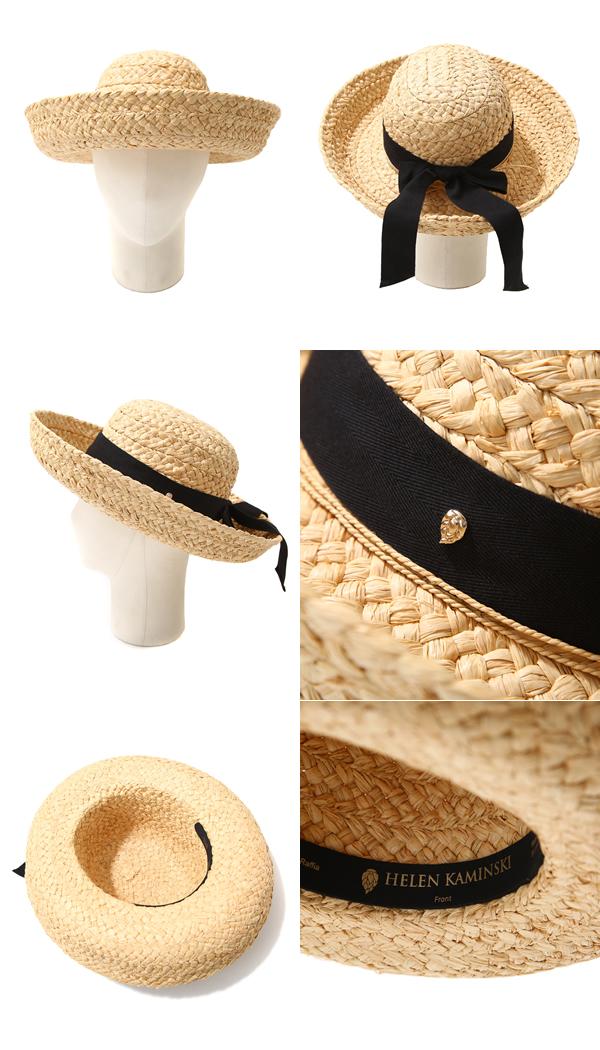 6093647e4d9ae HELEN KAMINSKI   Helen Kaminski  Classic 5-Natural Black-  Lady s hat hat  straw  16211