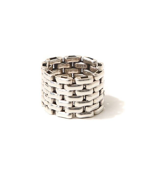 LAVER / ラバー : 7 LINK RING : シルバー アクセサリー リング 指輪 : LAVER-NO-15【COR】