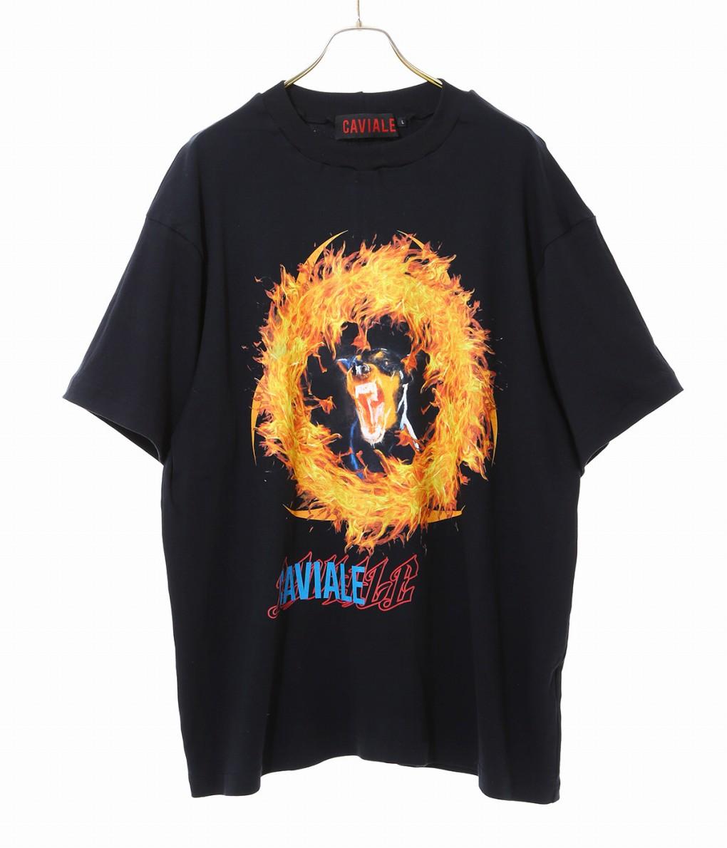 【アウトレットキャンペーン!】CAVIALE / カビアーレ : T-SHIRT : ティーシャツ Tシャツ トップス カットソー メンズ : SSB1 【WAX】