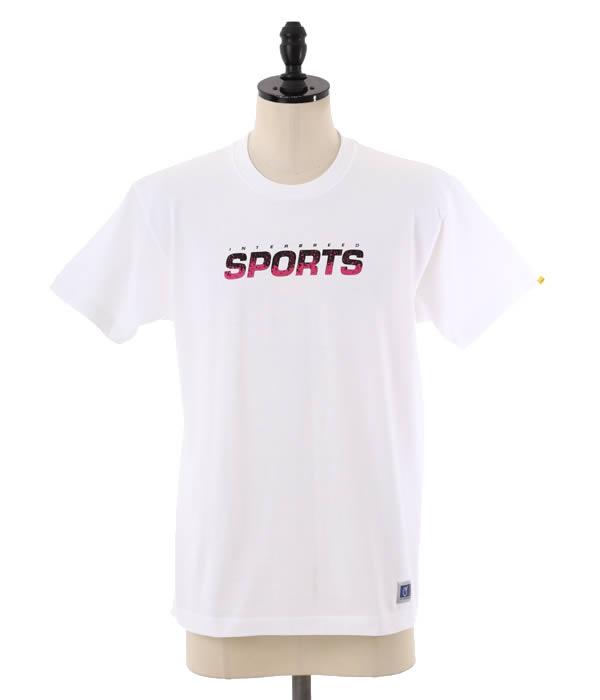 INTERBREED [인터 품종]/Tech Sport Logo SS Tee (로고 프린트 티셔츠 인터 품종 반 소매 컷 소 우) IB14SS-29
