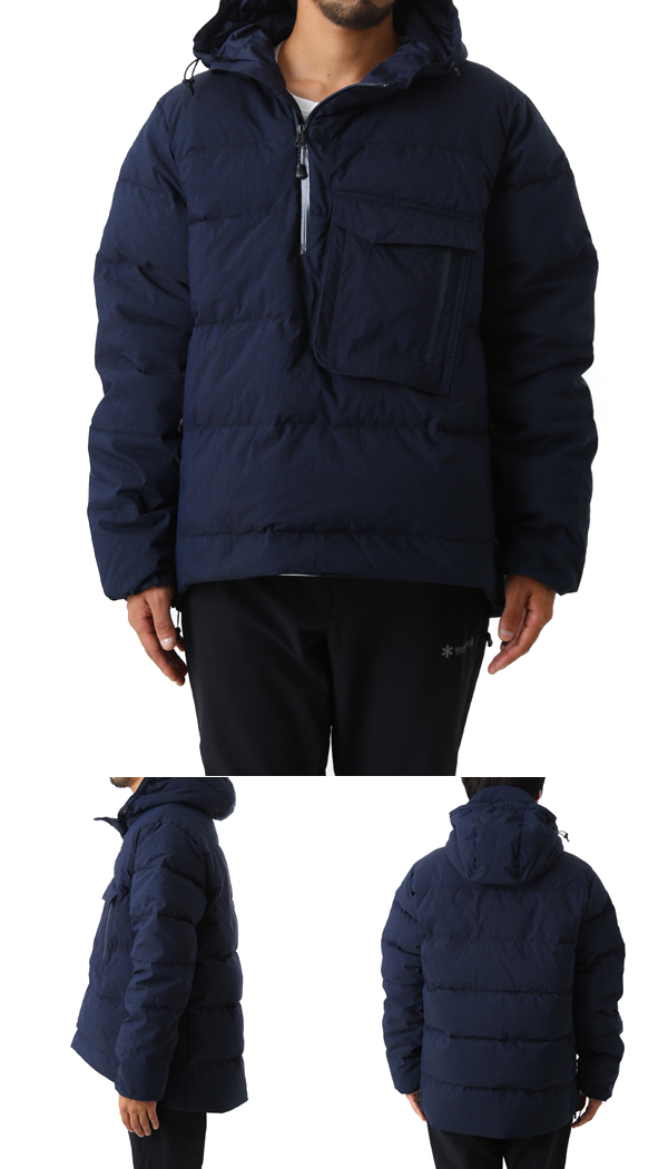snow peak [스노우 피크] / Indigo C/N Down Jacket (스노피크다운쟈켓트인디고아우타) JK-16 AU007
