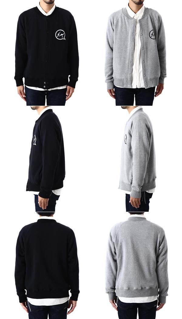 All two colors of DENIM BY VANQUISH & FRAGMENT [denim by station wagon quiche fragment] / sweat jacket (sweat shirt jacket blouson award jacket Sue studio) / / VFC2021