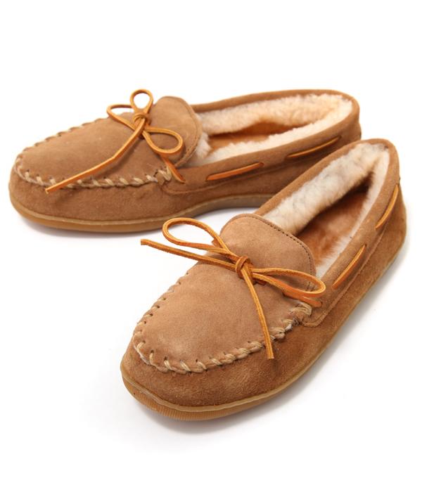 【アウトレットキャンペーン!】MINNETONKA / ミネトンカ : MEN SHEEPSKIN HARDSOLE MOCCASIN : ミネトンカ モカシン シューズ 靴 : 700022128 【AST】