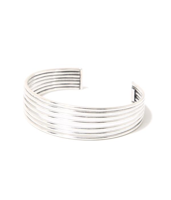 PHILIPPE AUDIBERT [필립 오 디 베일] / Alicia bracelet 7 rows(brass silver color) (아리시아브레스렛트아크세사리브라스시르바카라) BR3141