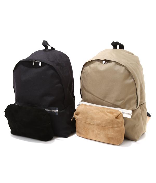 【期間限定送料無料!】Hender Scheme / エンダースキーマ : back pack / 全2色(バックパック デイパック デイバッグ リュック レザー) y-b-bpk【RIP】【BJB】