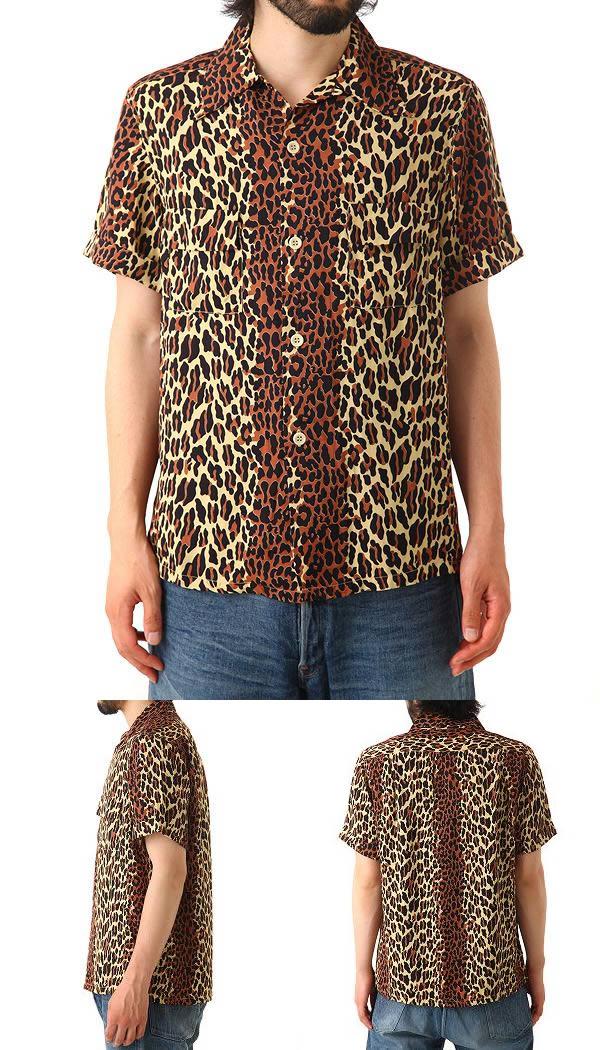 HUMAN MADE (휴먼 메이드) LEOPARD SHIRT (셔츠 반 레오 파 드) HM6-SH-003