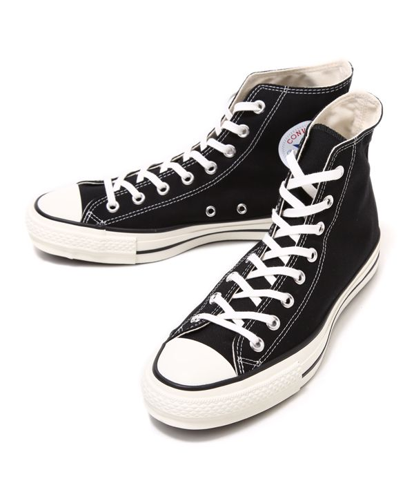 b5d2cf7af3a1 CONVERSE   Converse  CANVAS ALL STAR J HI - black -  Model all-stars made  in Japan  32067961