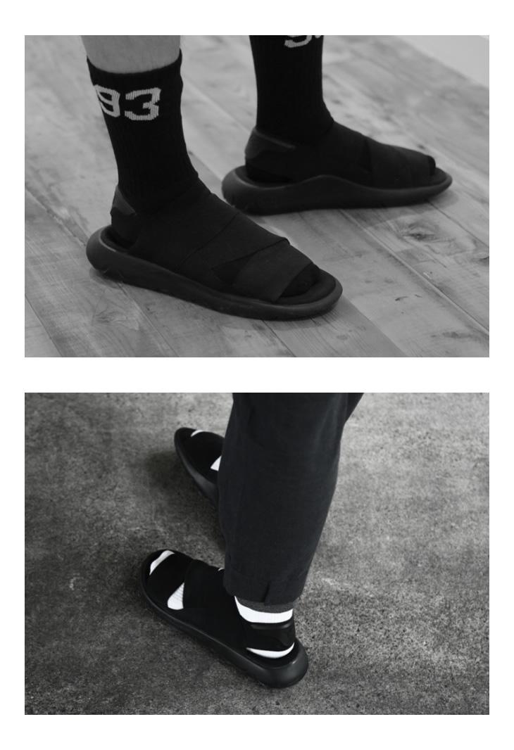a4055efca Y-3   Weiss Lee  Y-3 QASA SANDAL  Adidas adidas カーササンダルスポサンスポーツサンダルシューズ  shoes YOHJI YAMAMOTO outdoor  AQ5584