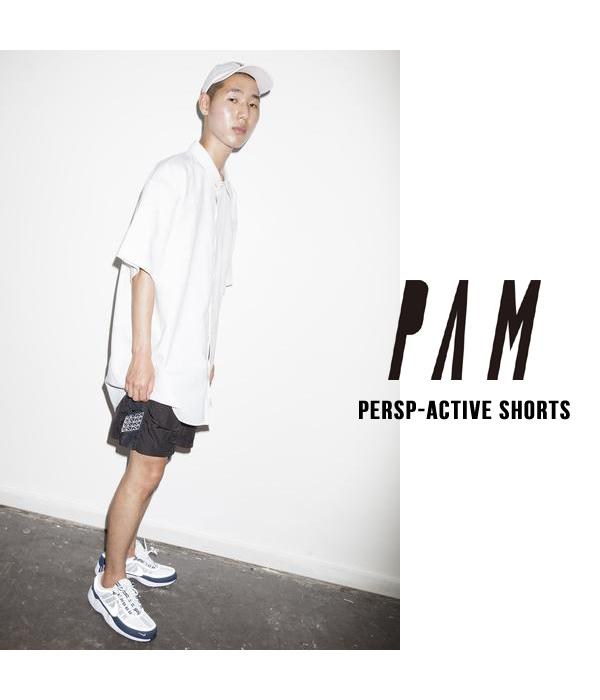 P.A.M / パム : PERSP-ACTIVE SHORTS / 全3色 (プレスペ アクティブ ショーツ 18SS 18春夏 パンツ ハーフパンツ メンズ) 8293【WAX】