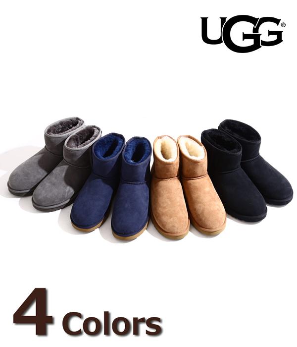 UGG / アグ : 【メンズ】M Classic Mini[全4色] : クラシックミニ メンズ MEN ショートブーツ シープスキン : 1002072【PIE】