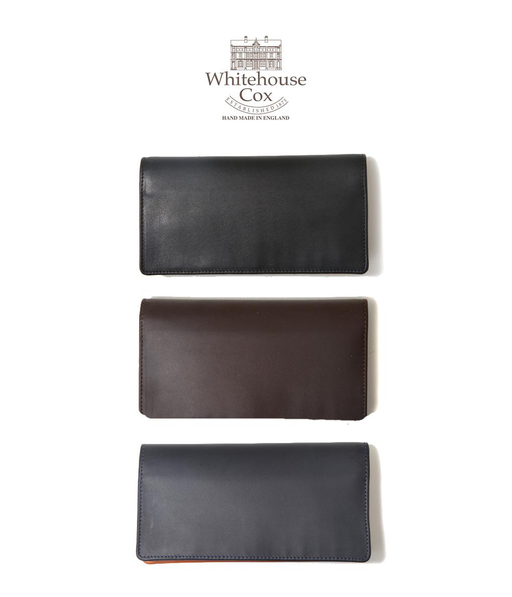Whitehouse Cox / ホワイトハウスコックス : LONG WALLET / 全3色 : ホワイトハウス レザー 財布 ロングウォレット 長財布 ダービー 馬革 ラッピング可能 : S8819-DERBY-57【MUS】