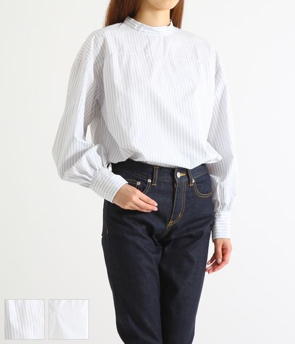 UNUSED / アンユーズド : 【レディース】WOMEN'S L/S PULLOVER SHIRT / 全2色 : ウーマン ロングプルオーバーシャツ : US1274 【ANN】