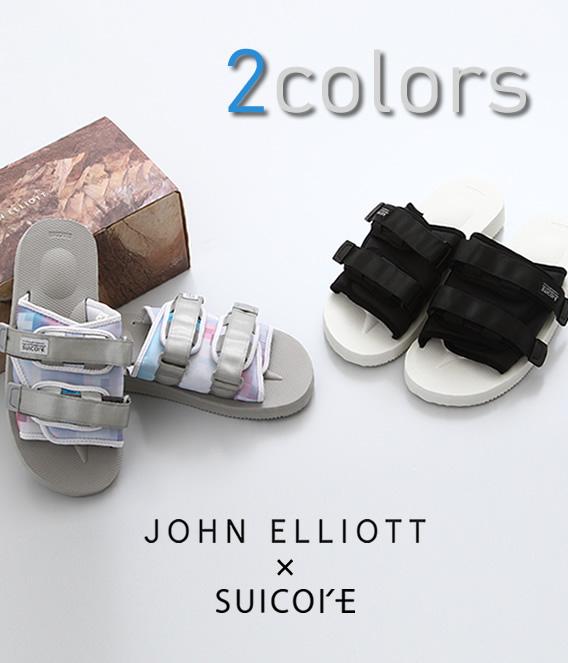 JOHN ELLIOTT / ジョン エリオット : SUICOKExJE SANDALS / 全2色 / : スイコック ジョンエリオット サンダル コラボ 18SS 18春夏 : 272120000【PIE】
