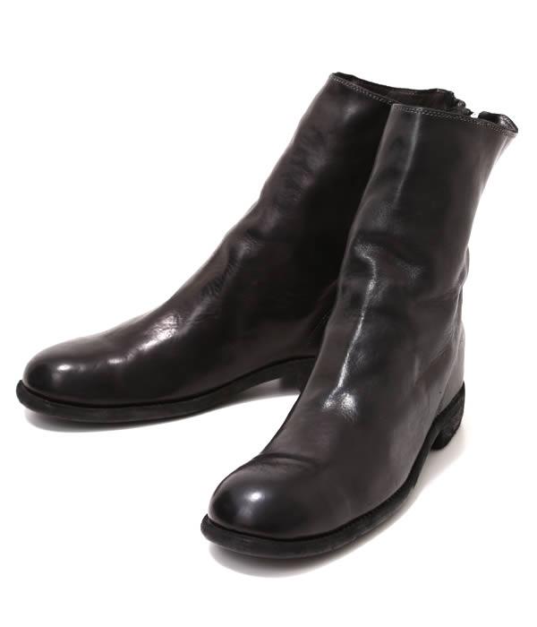 GUIDI / グイディ : BACKZIP BOOTS : guidi ブーツ バックジップブーツ レザー レザーシューズ : 988T-horse-5s【RIP】
