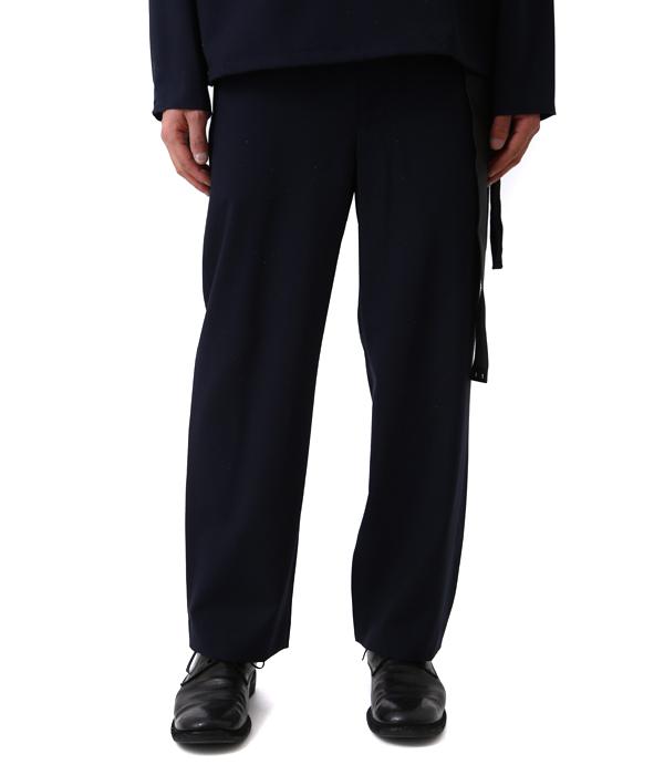 URU [울] / tapered slacks -17 SUP09 -(가는 초 도스 락스 슬랙스 팬츠) 17 SUP09