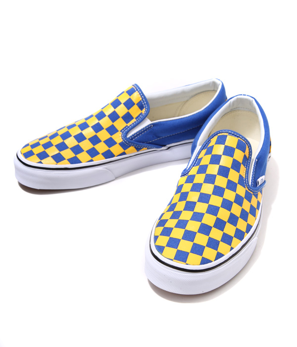VANS CLASSICS (반 클래식)/CLASSIC SLIP-ON (GOLDEN COAST) (스 니 커 즈 반스 클래식 슬립 신발 단 화) VN-00MEGI4