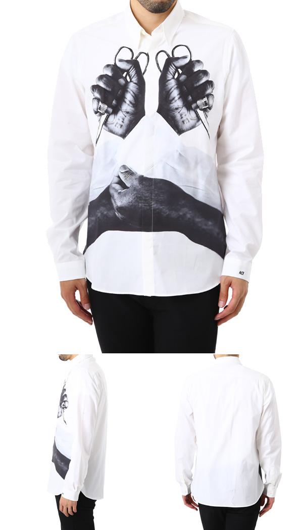 ART COMES FIRST [アートカムズファースト] / ACF S-HAND SHIRT (long sleeved art comes Fausto hand t-shirt printed) 924 Print