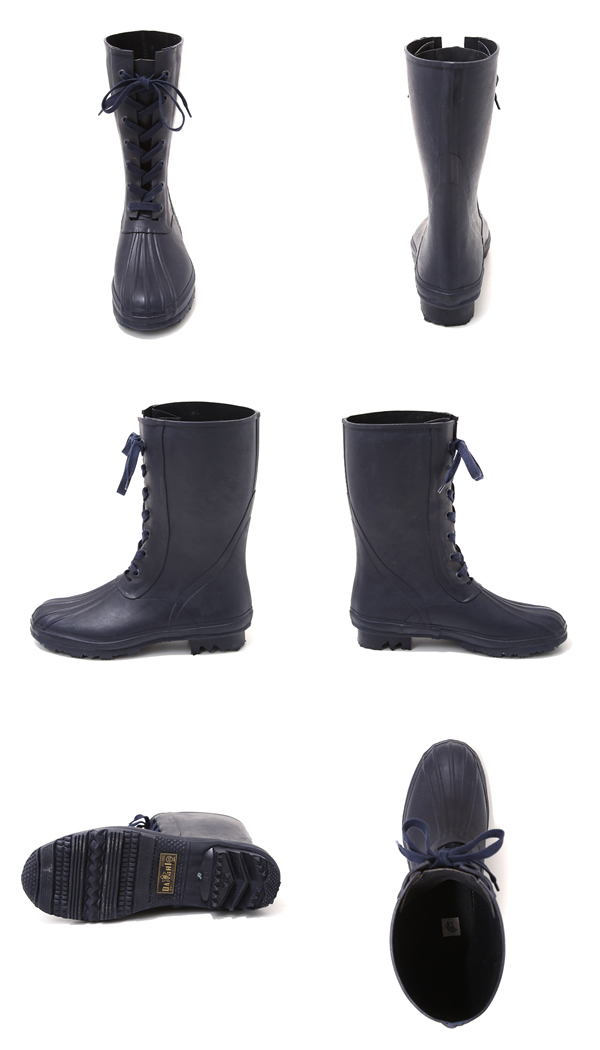 KAPTAIN SUNSHINE [captain sunshine] / Lace-up Rain Boots (race up rain boots shoes shoes) KS6FG015