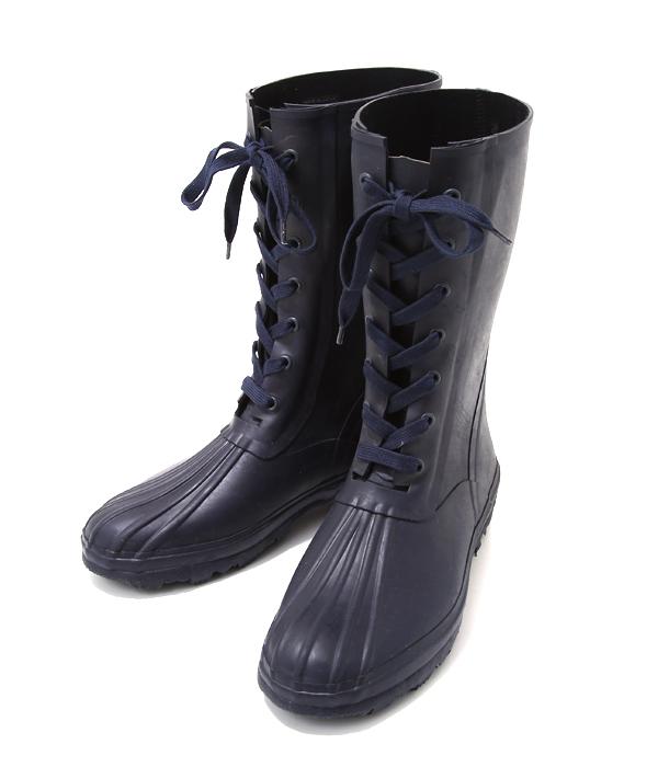 KAPTAIN SUNSHINE / キャプテン サンシャイン : Lace-up Rain Boots : レースアップ レイン ブーツ シューズ 靴 : KS6FG015【NOA】