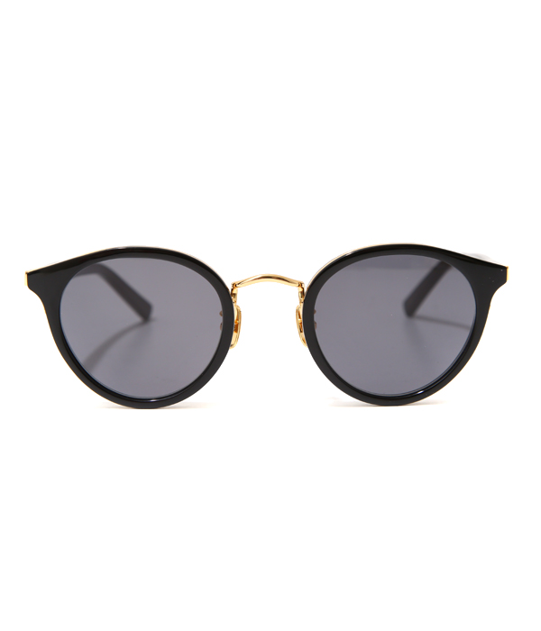A.D.S.R. / エーディーエスアール : REICH01 SHINY BLACK / GOLD : ADSR ライヒ 眼鏡 メンズ レディース ハンドメイド : REICH01【WAX】