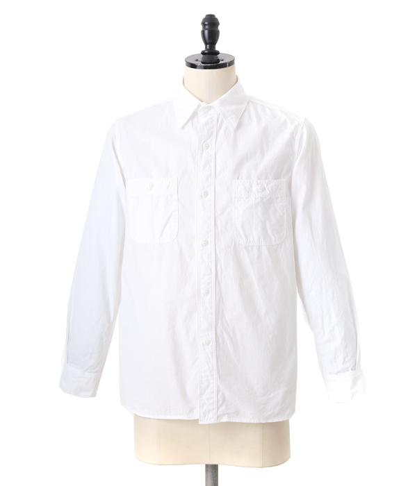 orSlow / オアスロウ : Chambray shirts white : シャンブレー シャツ : 01-8070-69【STD】