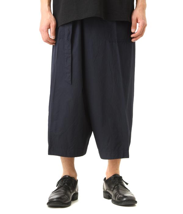 KAPTAIN SUNSHINE / キャプテン サンシャイン : Naval Wrap Trousers : パンツ イージーパンツ トラウザー メンズ : KS8SPT02【NOA】
