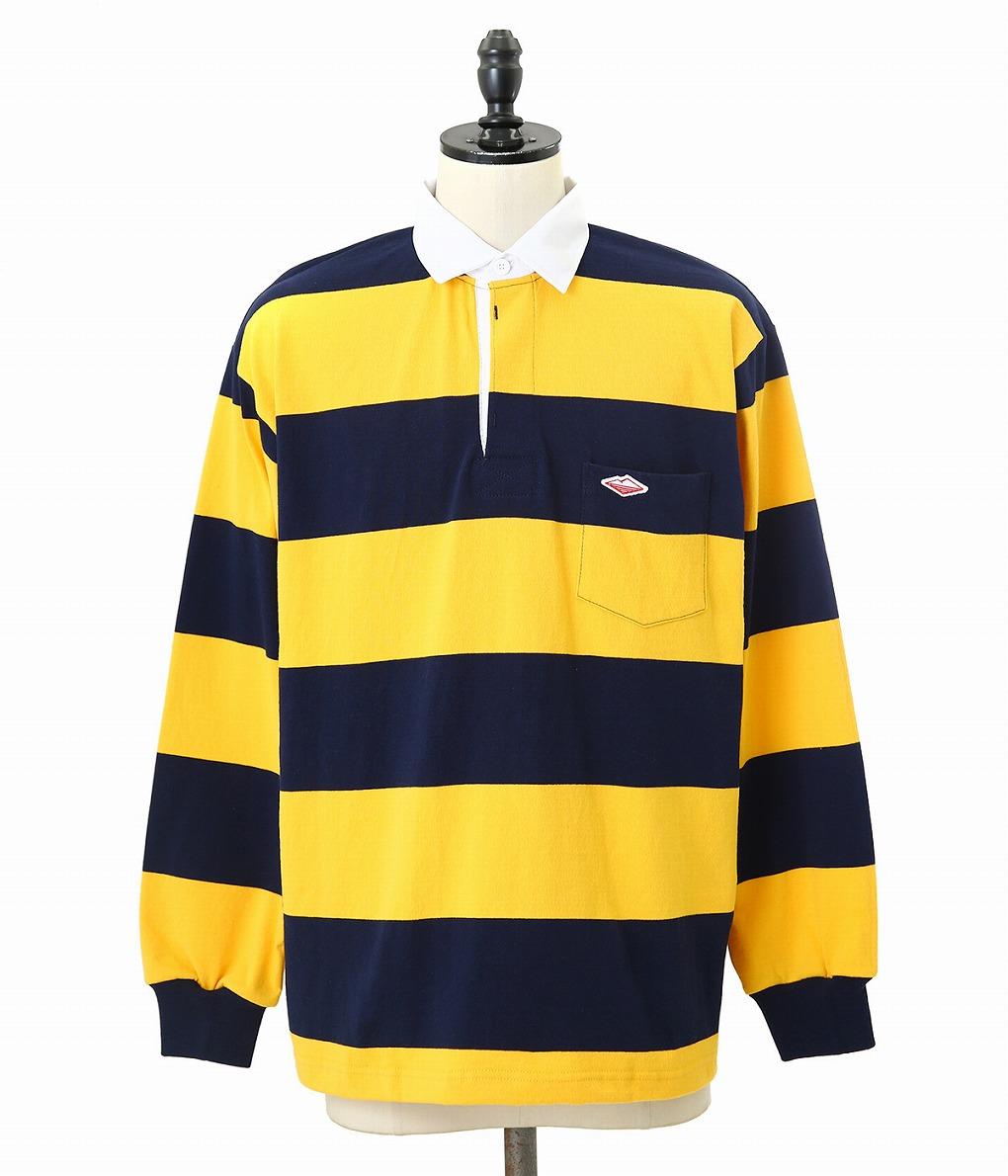 【SPECIAL PRICE!】Battenwear / バテンウェア : POCKET RUGBY SHIRT : ポケットラグビーシャツ ラグビーシャツ シャツ トップス 長袖 メンズ : SS19501A 【AST】