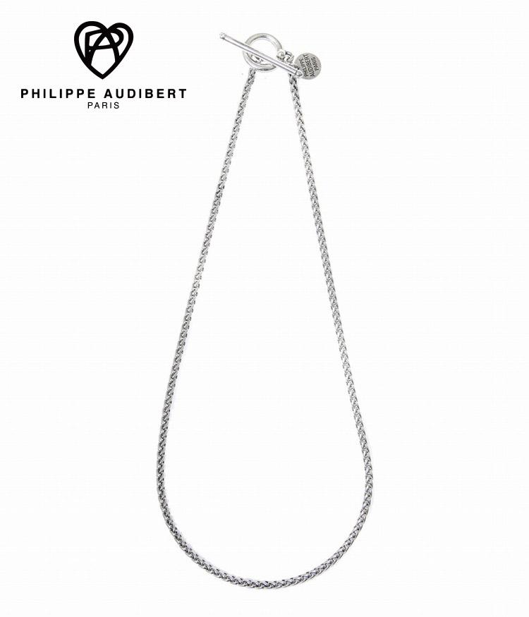 正規取扱 2020新作 3980円以上で送料無料 昼12時30分までの注文で即日発送 PHILIPPE AUDIBERT フィリップオーディベール : 日本正規品 ネックレス COS2054 necklace Mathieu レディース ANN
