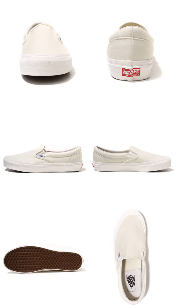 VANS VAULT [vans Vault] og CLASSIC SLIP ON LX-VN-0UDF0RD (CANVAS) CLASSIC WHITE (sneakers slip-on shoes shoes)