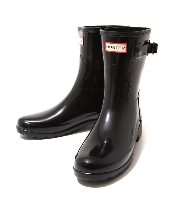 HUNTER / ハンター : 【レディース】ORIGINAL REFINED SHORT GLOSST / 全2色 : ハンター ウーマンズ オリジナル ショート レディース 長靴 雨 : WFS1098RGL【DEA】