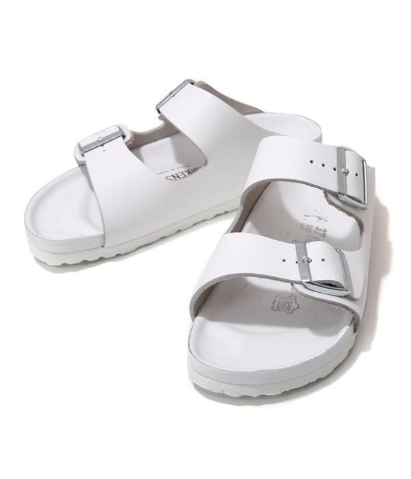 BIRKENSTOCK / ビルケンシュトック : MONTEREY EX(ナローフィット)-ホワイト (約22cm~28cm) : モントレー イクスクィジット メンズ レディース ユニセックス ビルケン サンダル コンフォート シューズ 靴 レザー : BST948183【STD】【REA】