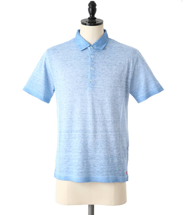 【SPECIAL PRICE!】120% LINO / ヒャクニジュッパーセント リノ : LINEN POLO SHIRTS / 全4色 : リネン ポロシャツ 半袖 : F0M7282E908D01 【MUS】